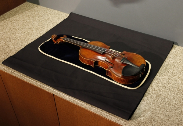 This 300-year old Stradivarius violin was stolen by Taser-wielding thieves